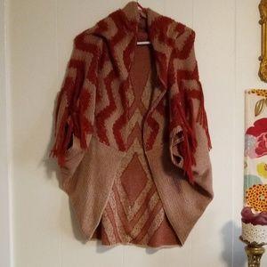 2/$45!! Free people shawl cardigan